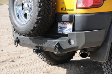 Picture of Expedition One FJ Cruiser Trail Series Rear Bumper