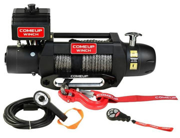 Picture of ComeUp Winch SEAL Gen2 9.5rs 12V, Synthetic Rope, Wireless Remote Buildin