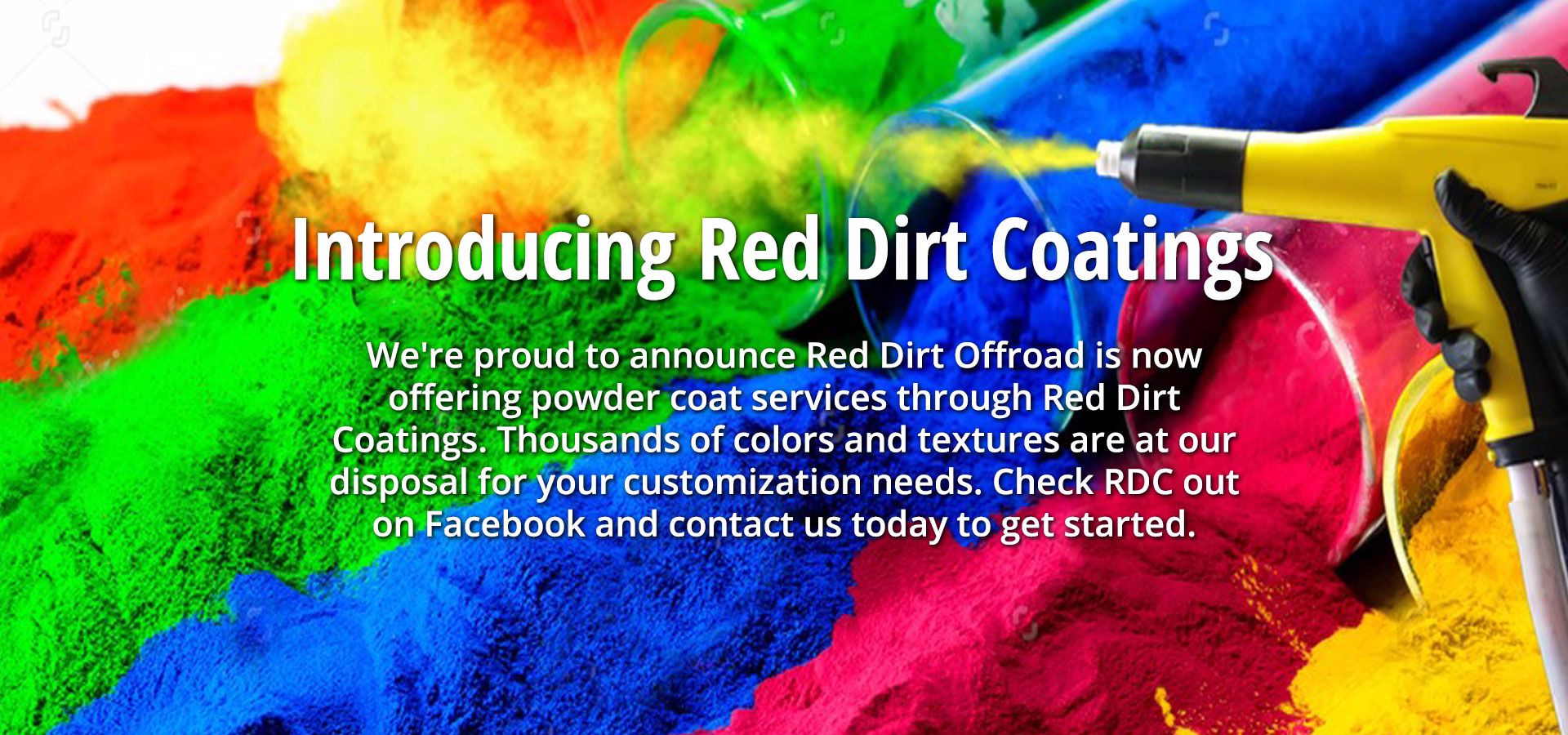 Introducing Red Dirt Coatings